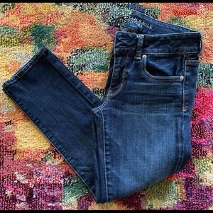 American Eagle💙Artist Crop Stretch Jeans
